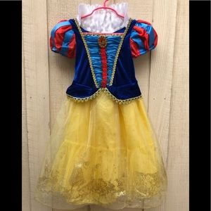 Disney Store Princess Snow White Costume Dress